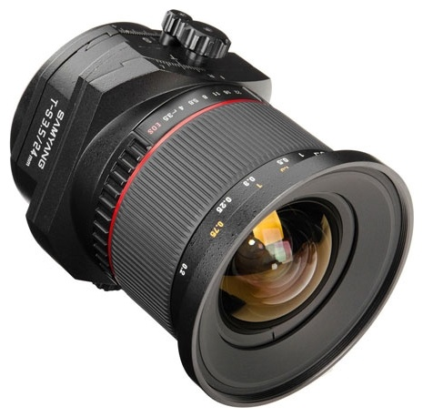 Samyang 24mm f/3.5 ED AS UMC T-S Canon EF