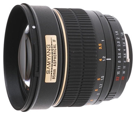 Samyang 85mm f/1.4 AS IF Chip Canon EF