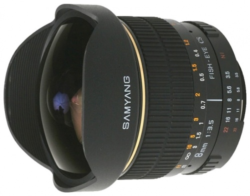 Samyang 8mm f/3.5 AS IF MC Fish-eye CS Four Thirds